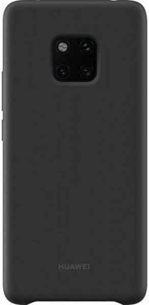Huawei Mate 20 Pro Silicon Magnetic Car Case Black
