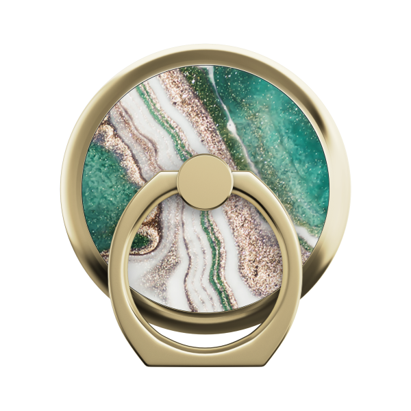 iDeal of Sweden Universal Ring Mount Magnetic Golden Jade Marble