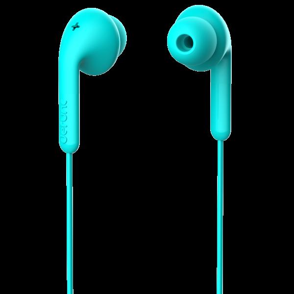 DeFunc In-Ear Basic Music Headphone Cyan