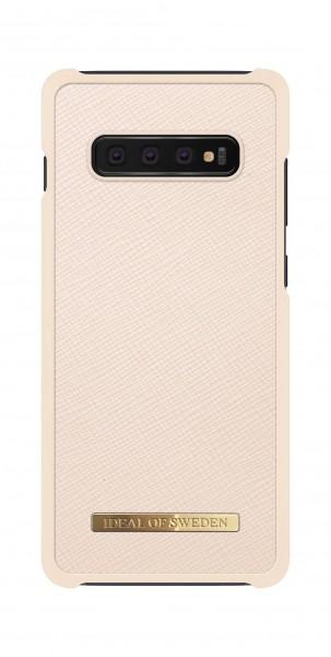 iDeal of Sweden Samsung Galaxy S10+ Fashion Case Saffiano Beige