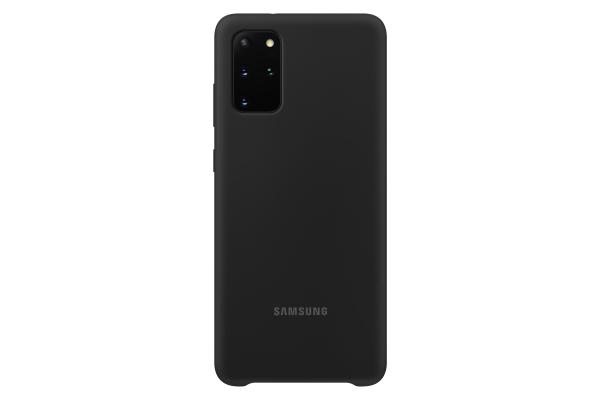 Samsung Galaxy S20+ Silicone Cover Black