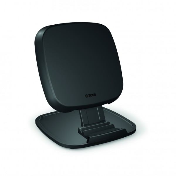 ZENS iPhone Ultra Fast Wireless Charger Stand 15W Black