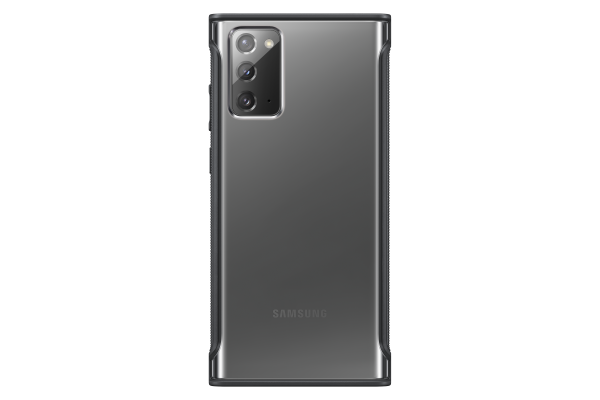 Samsung Galaxy Note20 Clear Protective Cover Zwart