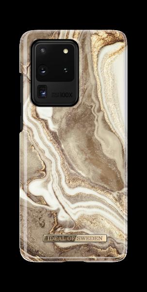 iDeal of Sweden Samsung S20 Ultra Fashion Back Case Golden Sand Marble