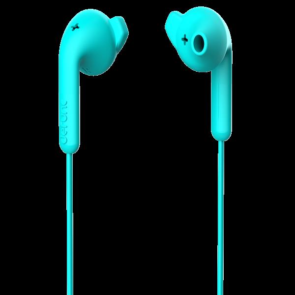 DeFunc In-Ear Basic Hybrid Headphone Cyan