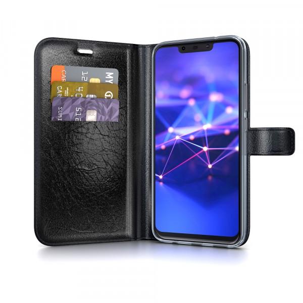 BeHello Gel Wallet Case Zwart voor Huawei Mate 20 Lite