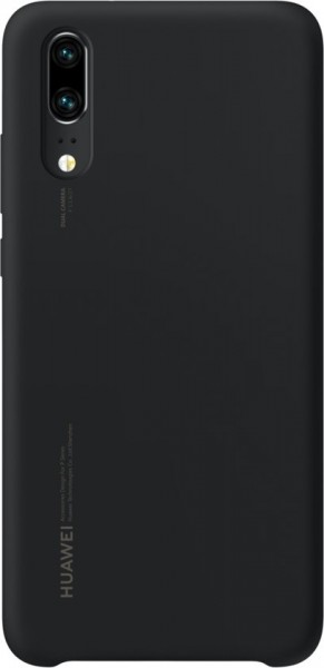 Huawei P20 Sillicon Cover Zwart