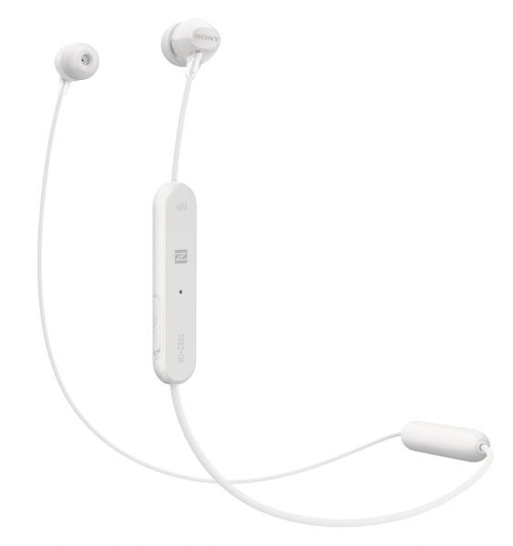 Sony WIC300W.CE7 Draadloze Koptelefoon In Ear Wit