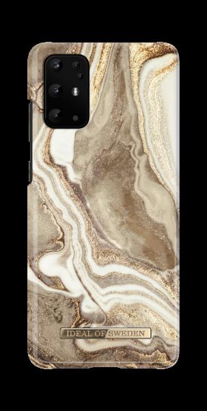 iDeal of Sweden Samsung S20+ Fashion Back Case Golden Sand Marble