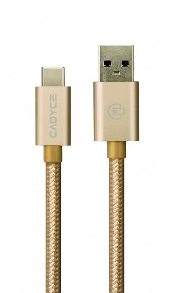 Cadyce USB-C naar USB 3.0 Kabel 10GB/s gegevensoverdracht Extra Stevig Stijlvol en compact design