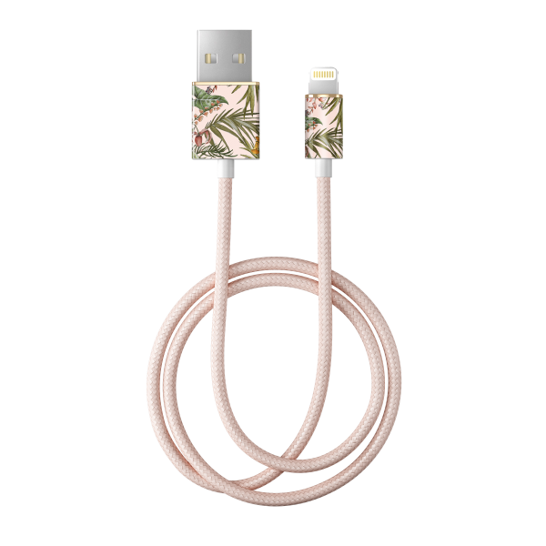 iDeal of Sweden Charge and Sync Lightning Fashion Cable 1m Pastel Savanna