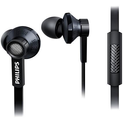 Philips In-Ear Headphone TX1BK Black