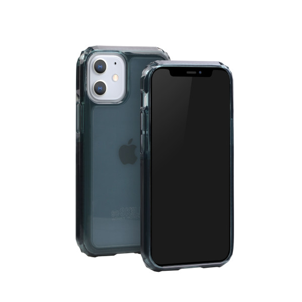 SoSkild iPhone 12 mini Defend 2.0 Heavy Impact Case Smokey Grey