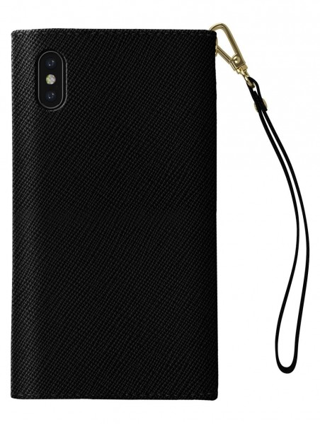 iDeal of Sweden Mayfair Clutch Zwart voor iPhone Xs Max