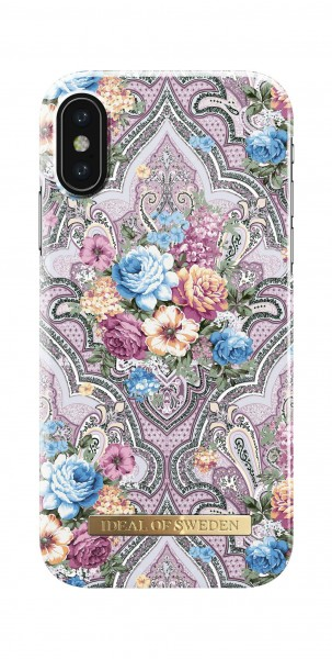 iDeal of Sweden Fashion Back Case Romantic Paisley voor iPhone X Xs