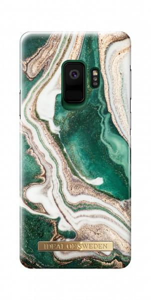 iDeal of Sweden Samsung Galaxy S9 Fashion Back Case Golden Jade Marble
