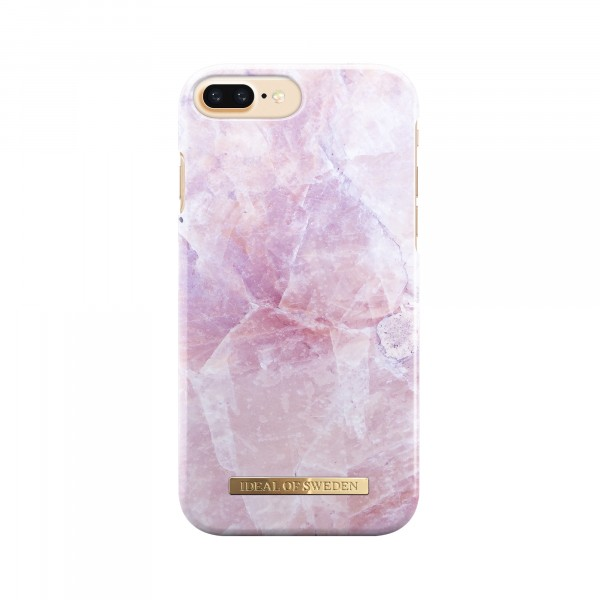iDeal of Sweden Fashion Back Case Pilion Pink Marble voor iPhone 8 Plus 7 Plus
