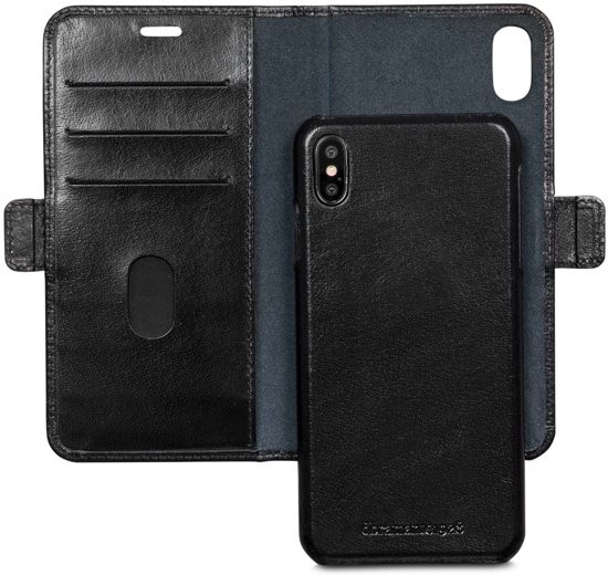 Dbramante1928 iPhone Xs Max 2-in-1 Wallet Case Lynge Black