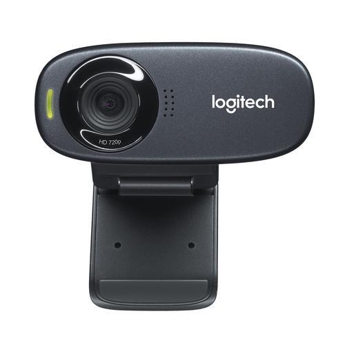 Logitech C310 Webcam Black