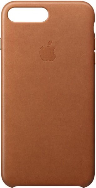 Apple Back Case Leer Bruin voor iPhone 8 Plus 7 Plus