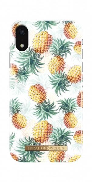 iDeal of Sweden iPhone Xr Fashion Back Case Pineapple Bonanza