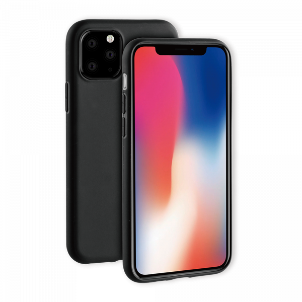 BeHello iPhone 11 Pro Gel Siliconen Hoesje Zwart