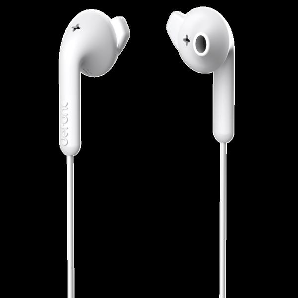 DeFunc In-Ear Basic Hybrid Headphone White