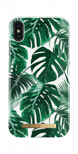 iDeal of Sweden iPhone XS Max Fashion Back Case Monstera Jungle