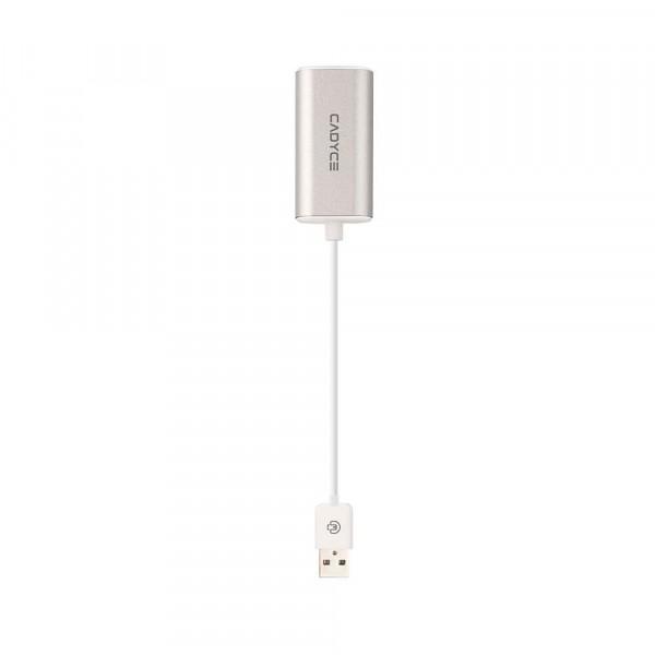 Cadyce USB 2.0 naar Ethernet Adapter Internetsnelheid tot wél 100Mb/s Compact & Stijlvol Design Z