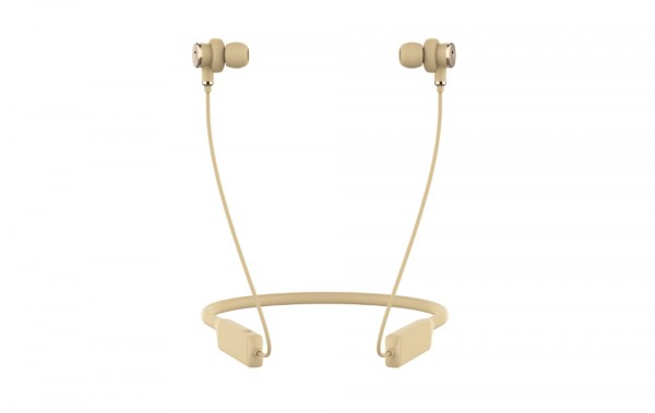 DeFunc In-Ear MUTE Active Noise Cancellation (ANC) Goldish