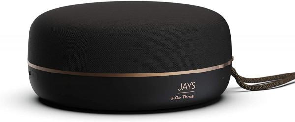 Jays Bluetooth Speaker Portable s-Go Three Black