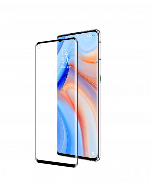 BeHello Oppo Reno4 Pro High Impact Glass Screen (AP) Anti-Bacteria