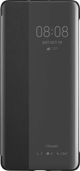Huawei P30 Pro View Flip Cover Case Black