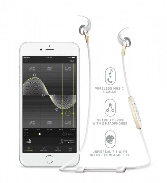 Jaybird In-Ear BT Freedom 2 With Speedfit Headphones Gold