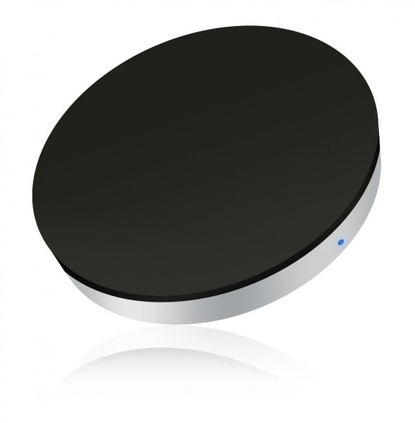 ZENS Single Wireless Charger Round Zwart