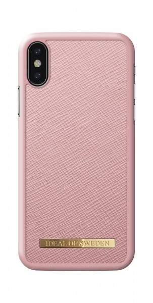 iDeal of Sweden iPhone XS/X Fashion Case Saffiano Pink
