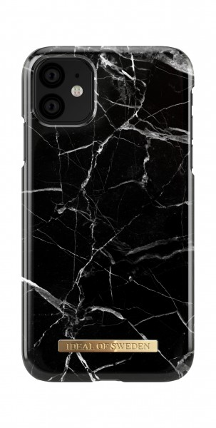 iDeal of Sweden iPhone 11 Fashion Back Case Black Marble