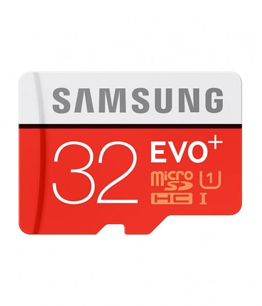 Samsung Micro SD 32GB EVO+ w SD Adapter Class 10