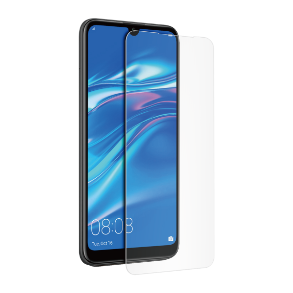 BeHello Huawei Y7 (2019) Screenprotector Tempered Glass - High Impact Glass