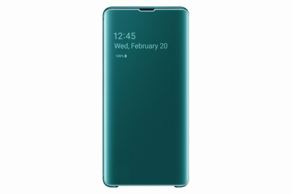 Samsung Galaxy S10+ Clear View Cover Green