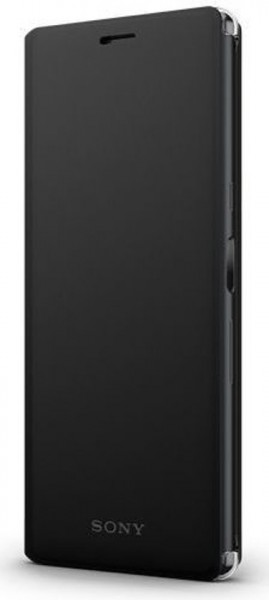 Sony Xperia 10 Style Cover Stand Case Black