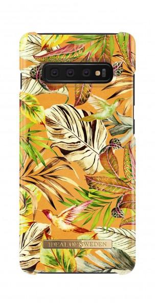 iDeal of Sweden Samsung Galaxy S10+ Fashion Back Case Mango Jungle