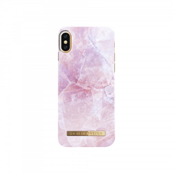 iDeal of Sweden iPhone X Fashion Back Case Pilion Pink Marble