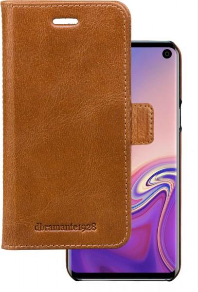 Dbramante1928 Samsung Galaxy S10 Folio Case Copenhagen Tan