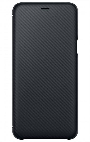 Samsung Wallet Case Zwart voor Samsung Galaxy A6+