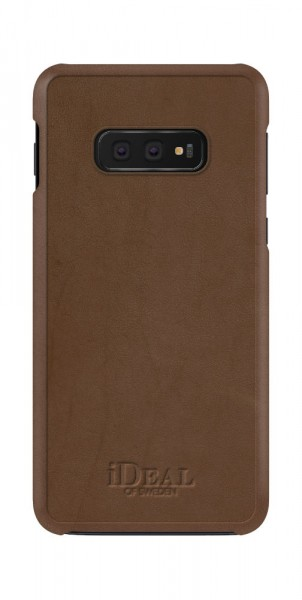 iDeal of Sweden Samsung Galaxy S10e Fashion Case Como Brown PU-Leather