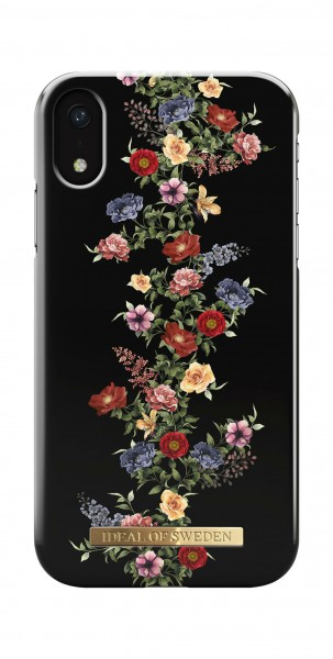 iDeal of Sweden Fashion Back Case Dark Floral voor iPhone Xr