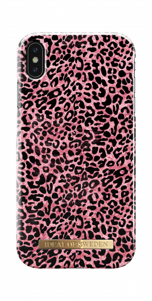 iDeal of Sweden iPhone XS Max Fashion Back Case Lush Leopard