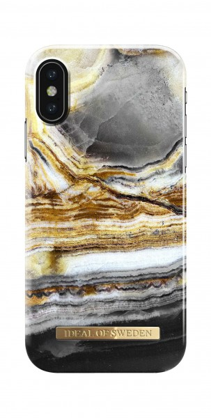 iDeal of Sweden Fashion Back Case Outer Space Agate voor iPhone X Xs