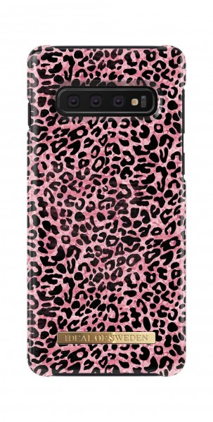 iDeal of Sweden Samsung Galaxy S10 Fashion Back Case Lush Leopard